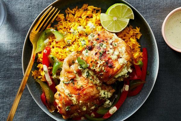 Рецепт бедра куриные с рисом в духовке
