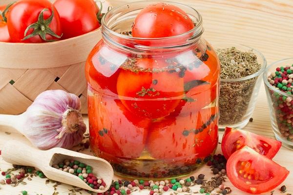 Как закрывать помидоры с лимонной кислотой
