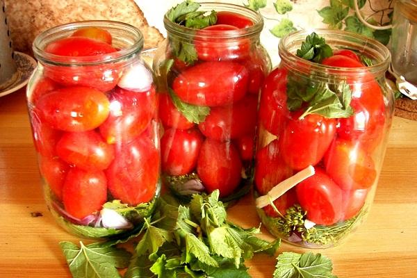 Рецепт сладких маринованных на зиму помидор