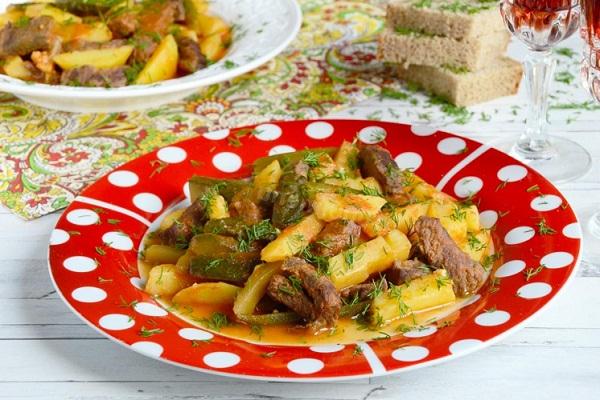 Как приготовить азу по-татарски с курицей