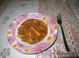Азу по-татарски классический фото рецепт