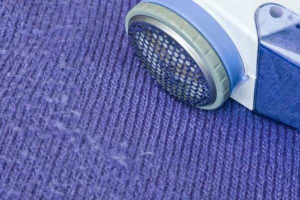 Катышки на ткани - как убрать