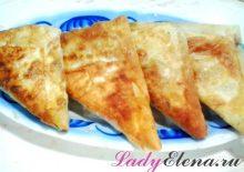 Пирожки из лаваша с капустой фото рецепт