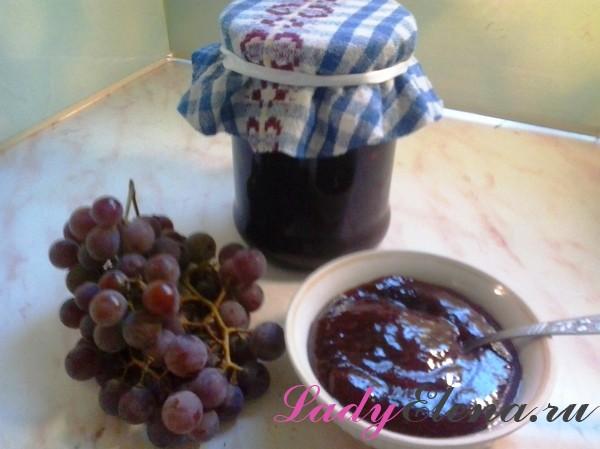 Фото рецепт виноградного варенья