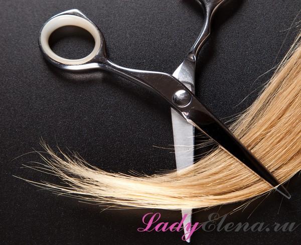 Примета: стричь волосы самой себе