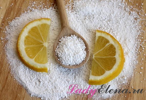Лимонная кислота - необычное применение