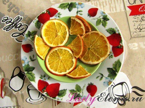 Апельсиновые чипсы фото рецепт
