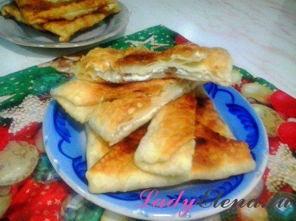 Молдавские плацинды с творогом фото рецепт