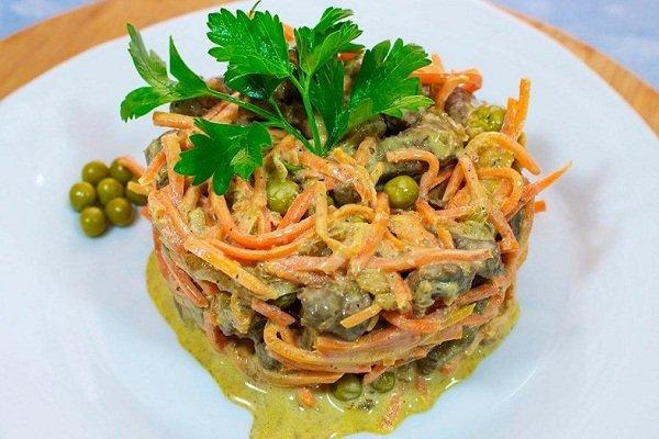 Куриный салат Обжорка