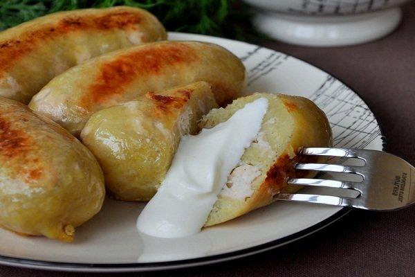 Картофельная колбаса рецепты