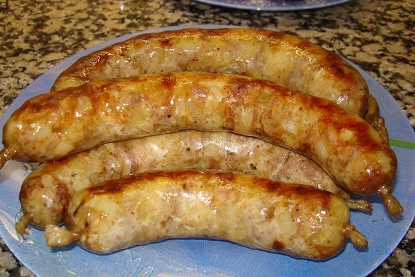 Колбаса картофельная с мясом