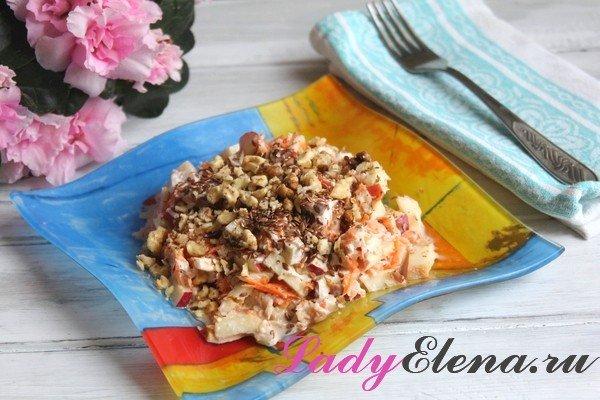 Салат из дайкона фото рецепт