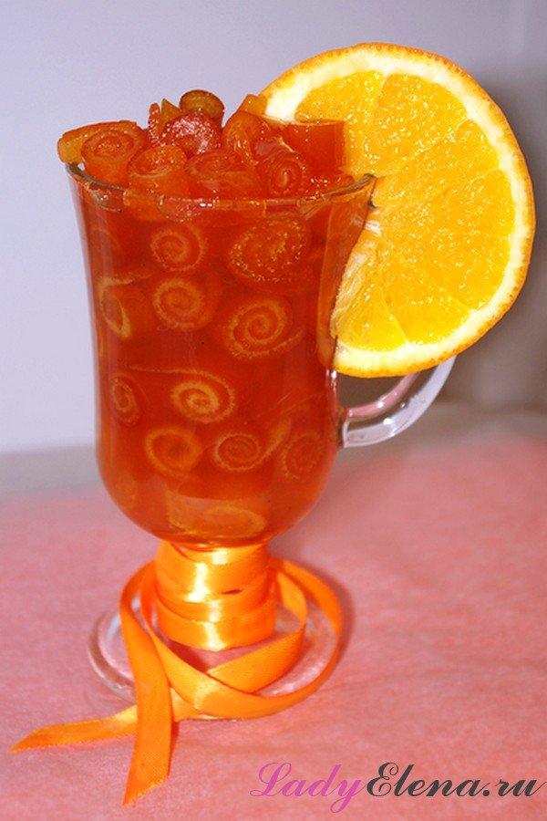 Варенье из апельсиновых корок фото рецепт