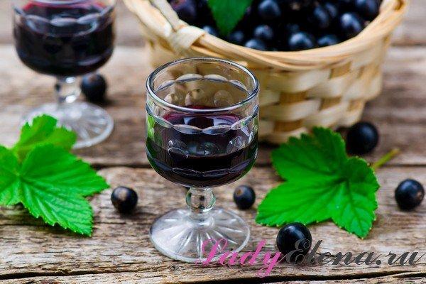 Черносмородиновая настойка на спирту