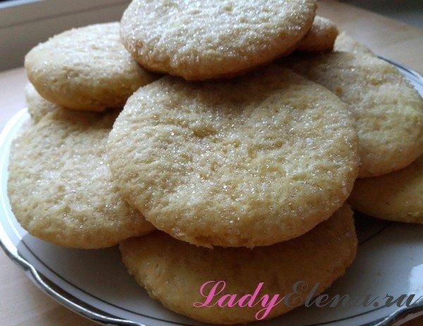 Печенье на майонезе фото-рецепт