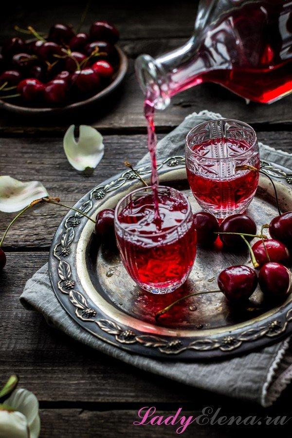 Рецепт настойки на вишневых косточках