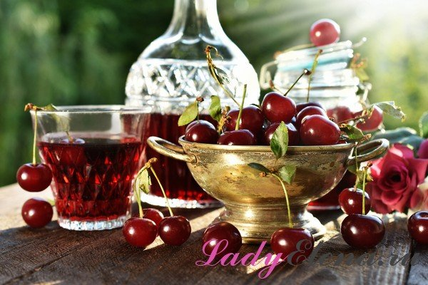 Настойка вишневая без спирта и водки