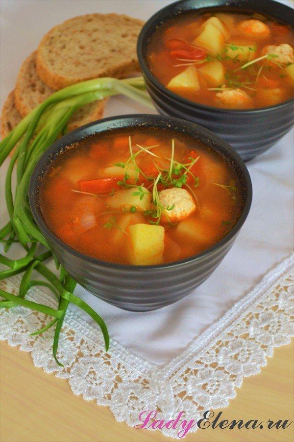 Суп из красной чечевицы - фото рецепт