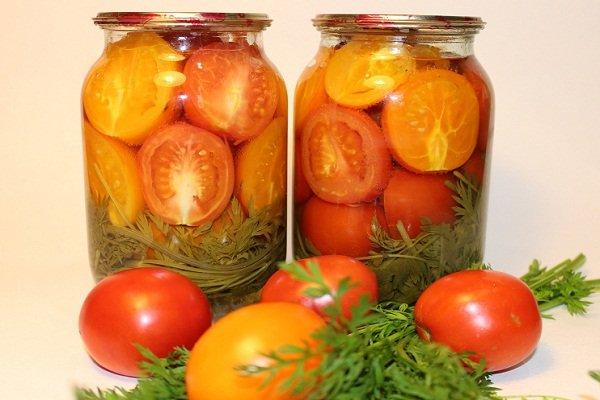 Как закрывать помидоры дольками без уксуса