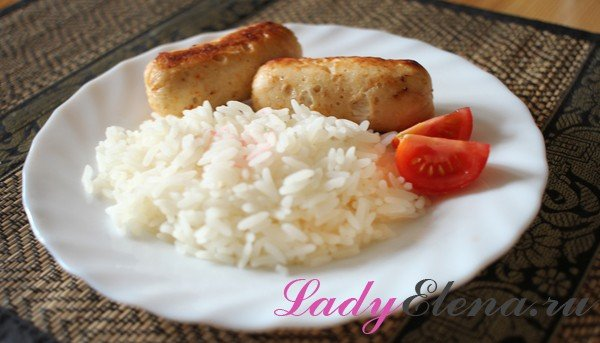 Домашние сосиски из курицы - фото-рецепт