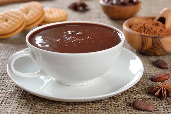 Горячий шоколад - рецепт
