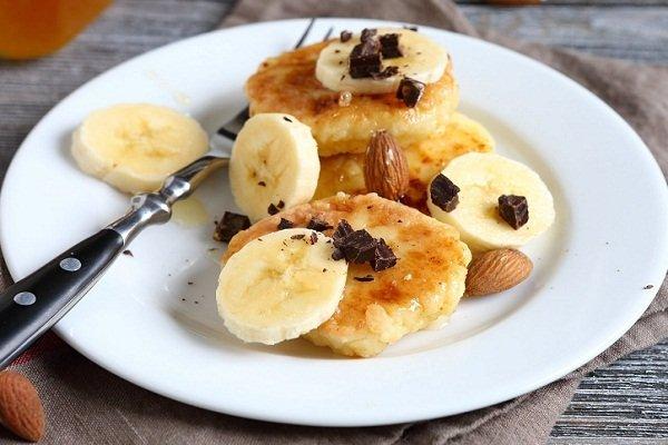 Как сделать сырники с бананом в духовке