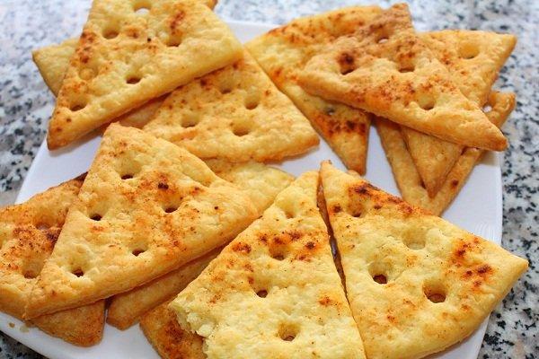 Печенье с творожным сыром