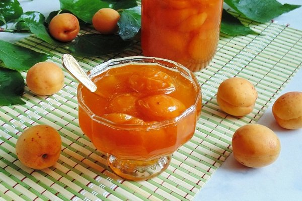 Варенье из абрикос без косточки пятиминутка