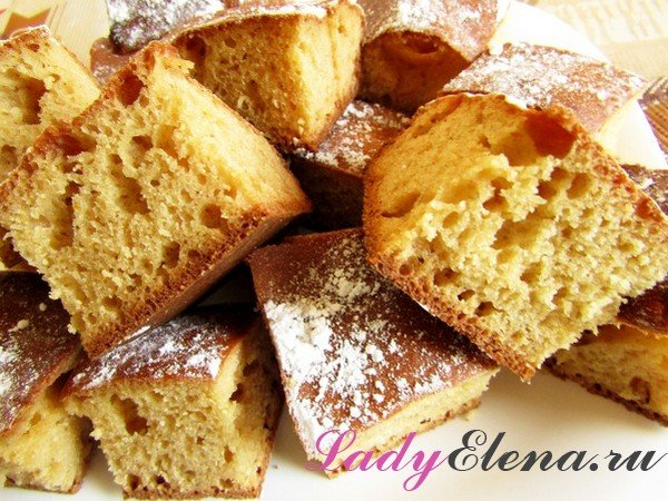 Пирог с манкой рецепт с фото
