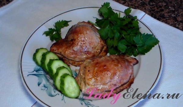 Карманы из свинины с начинкой рецепт с фото