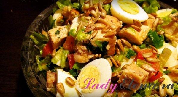 Куриный салат - пошаговый рецепт с фото