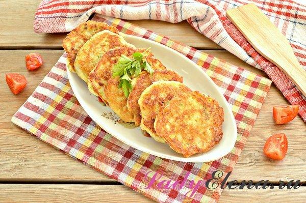 Драники с картошкой и кабачками фото-рецепт
