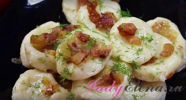Ленивые вареники из картошки фото-рецепт