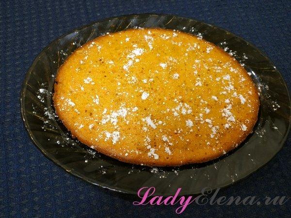 Орехово-морковный пирог фото-рецепт