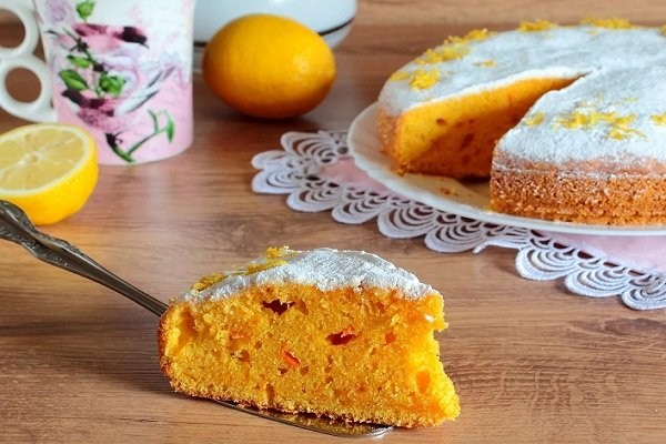 Пирог из моркови и тыквы