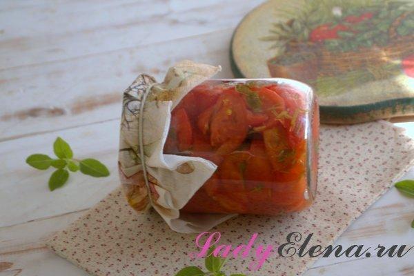 Салат из помидоров на зиму фото-рецепт
