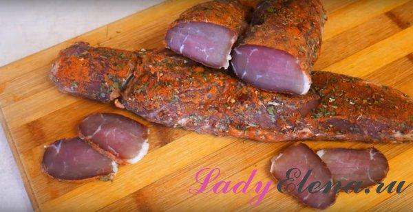 Бастурма из свинины фото рецепт