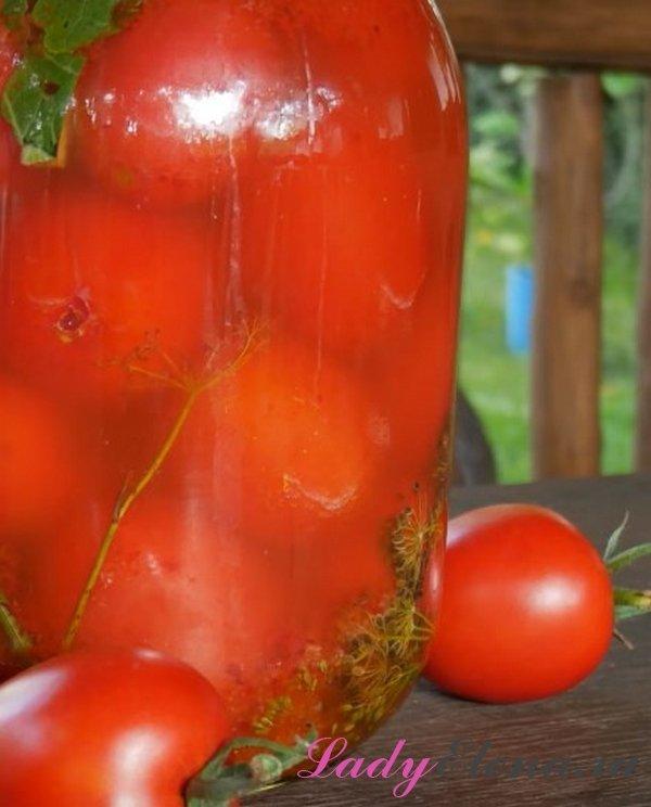 Бочковые помидоры в банке фото рецепт
