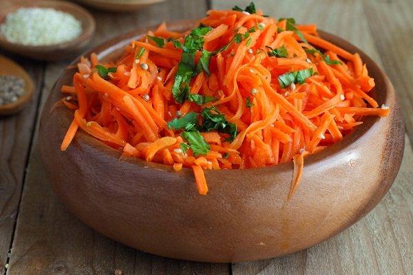 Корейская морковь на зиму