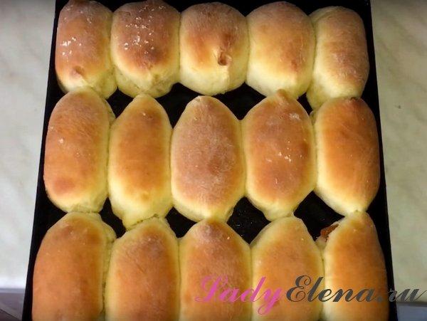 Пирожки с повидлом в духовке