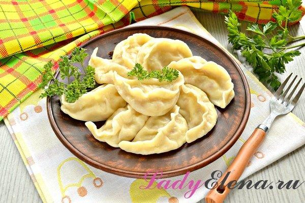 Тесто для вареников с картошкой фото рецепт