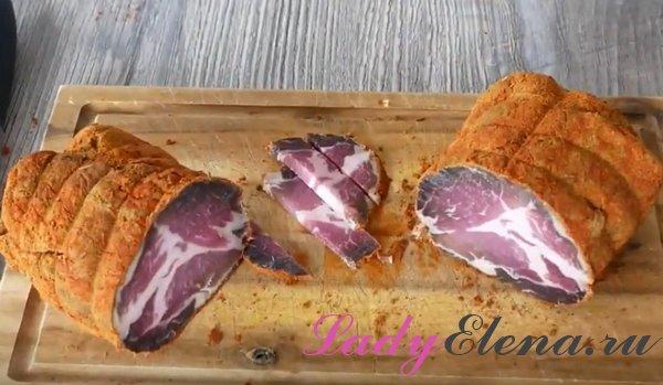 Вяленая свинина в домашних условиях фото рецепт