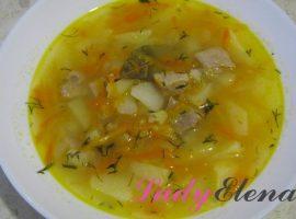 Гороховый суп фото-рецепт