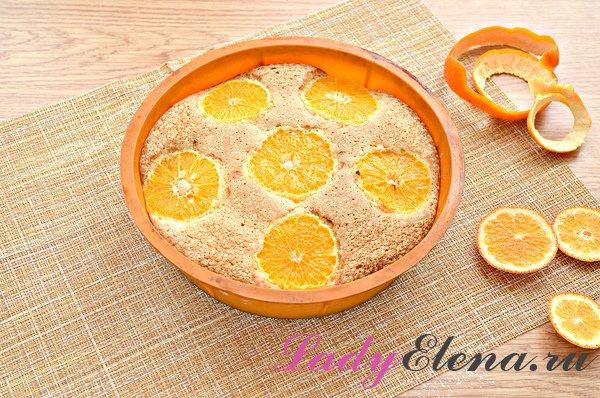 Шарлотка с мандаринами – самые вкусные рецепты пирога с мандаринами
