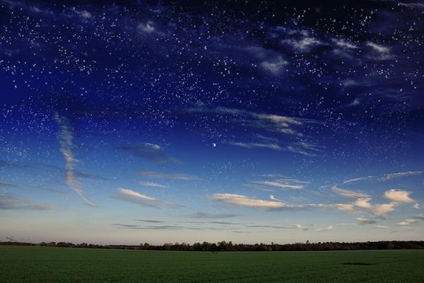 Приснилось звездное небо