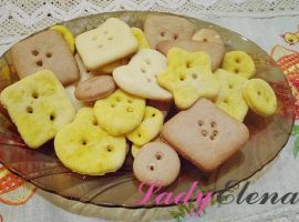 Печенье пуговки фото-рецепт