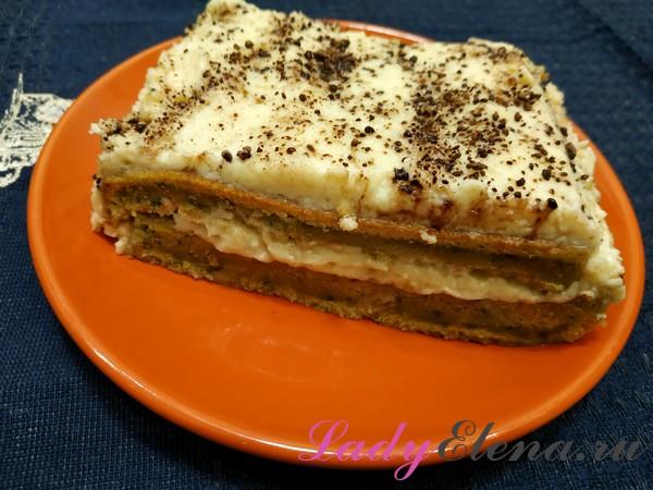 Торт со шпинатом фото-рецепт