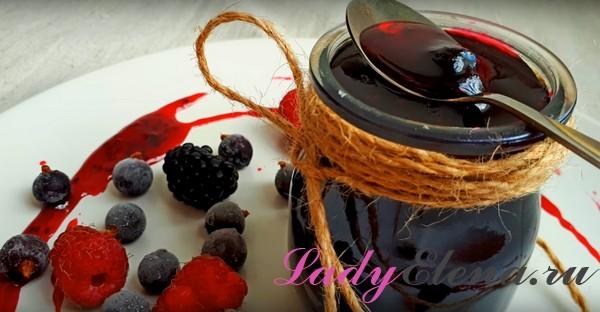 Варенье из черной смородины фото-рецепт