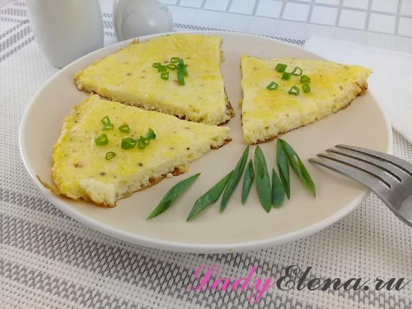 Омлет с добавлением сыра
