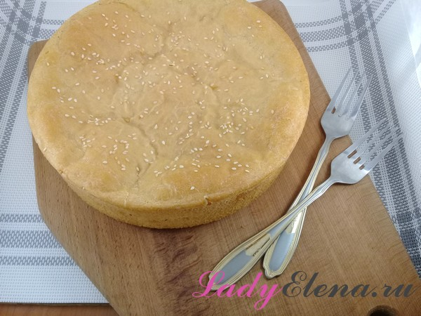 Пирог с картофелем фото-рецепт